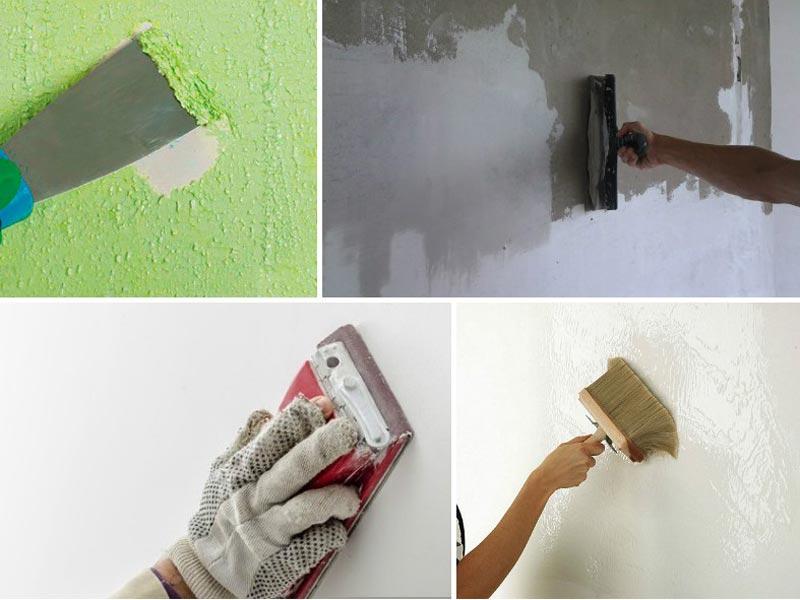 Подготовка стен для покраски